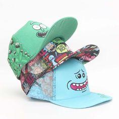 Rick   Morty Snapback Hats - Pickle Rick - Mr. Meeseeks c88794eb1094
