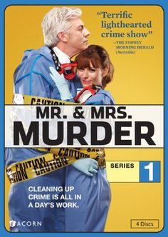 Mr. & Mrs. Murder.  Nicola (Kat Stewart) and Charlie Buchanan (Shaun Micallef) run a cleaning service for crime scenes.