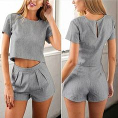 Fashion discovery and shopping in one place at Wheretoget.There is 1 tip to buy romper, dream closet couture. Short Outfits, Stylish Outfits, Summer Outfits, Beautiful Outfits, Cute Dresses, Ideias Fashion, Fashion Dresses, Rompers, Fashion Design