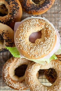 Delicious Shots: Homemade Bagels. Yes, you can make them at home.