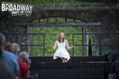 """Nicole Mangi performs """"Somewhere That's Green"""" from """"Little Shop of Horrors"""" in Transcendence Theatre Company's Broadway Under The Stars in Jack London State Park - Sonoma, Napa, Wine Country http://www.transcendencetheatre.org/ Photo By Ray Mabry"""