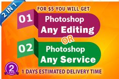 do any two Photoshop work by ayazshah