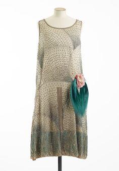 Expo Paris haute couture - Jérôme, robe du soir, vers 1925