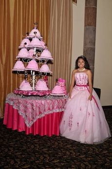photo gallery of quinceanera in texas Beautiful Wedding Cakes, Gorgeous Cakes, Cake And Cupcake Stand, Cupcake Cakes, Quinceanera Cakes, Quinceanera Ideas, Quince Cakes, Cake Tower, Summer Birthday