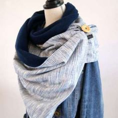 Crochet patrones ropa mujer 31 ideas for 2019 Coin Couture, Couture Sewing, Diy Scarf, Lace Scarf, Sewing Scarves, Trends 2016, Easy Crochet, Clothes, Foulard Scout