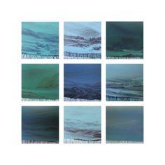 Luis Coquenao Série Multiverso, 2014 | Acrílico sobre tela | 9 peças de 82 x 82cm