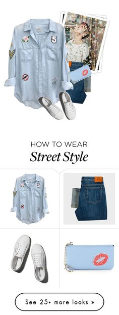 """""""street style"""" by janemichaud-ipod on Polyvore featuring GALA, PS Paul Smith, Rails, Abercrombie & Fitch and Saks Fifth Avenue"""