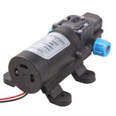 High Pressure Aquarium Micro Diaphragm Water Pump DC12V 60W Automatic Switch Kit #HighPressureChina
