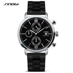 SINOBI Sports Men's Chronograph Wristwatch Males Geneva Quartz Watches Riding Clocks 2016 James Bond 007 Montre Homme Furious-in Quartz Watches from Watches on Aliexpress.com | Alibaba Group