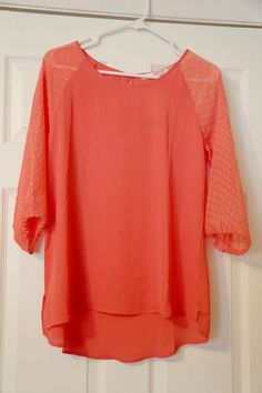 stitch fix #2 - fun2fun nannette swiss dot sleeve blouse. love everything about this - the fit, the color, the length - I wear this ALL the time.  It is perfect for summer or under a blazer for the transition to fall!