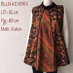 Blouse Batik Kendra RESTOK  Bahan Batik Halus   Lingkar Dada 112cm  Panjang 80cm  #blouse #blousebatik #blousebatiksolo #atasan #atasanwanita #batiksolo #sogan