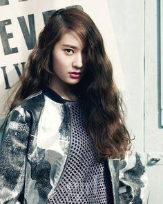 f(x) Krystal Jung Vogue Girl Magazine