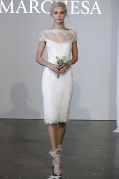 Incredible Short Wedding Dresses From the Runway | StyleCaster