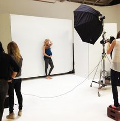 Our cover shoot with Kerri Walsh Jennings: A behind the scenes look