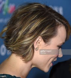 Rachel McAdams arrives at the 'Aloha' - Los Angeles Premiere at The London West Hollywood on May 27 2015 in West Hollywood California. Short Hair With Layers, Short Hair Cuts, Short Hair Styles, Short Hairstyles 2015, Cool Hairstyles, Rachel Mcadams Hair, My Hairstyle, Up Girl, Hair Today