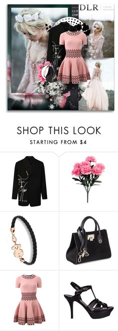 """""""DLRBOUTIQUE.COM"""" by shinee-pearly ❤ liked on Polyvore featuring Yohji Yamamoto, TOUS, Jimmy Choo, Alexander McQueen, Yves Saint Laurent, luxury and dlrboutique"""