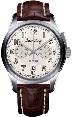 @breitling  Watch Transocean Chronograph 1915 Limited Edition #add-content #basel-15 #bezel-fixed #bracelet-strap-alligator #buckle-type-tang-type-buckle #case-material-steel #case-width-43mm #chronograph-yes #date-yes #delivery-timescale-call-us #dial-colour-silver #gender-mens #limited-edition-yes #luxury #movement-breitling-caliber-b14 #movement-manual-wind #subcat-limited-editions #subcat-transocean #supplier-model-no-ab141112-g799-740p #warranty-breitling-official-2-year-...