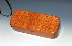 Small Handmade Wood Box - Lacewood on Mahogany Wooden Pen BoxGift Prsentation Box Desk Box Small Wood Jewelry Box by BurlWoodBox by BurlWoodBox