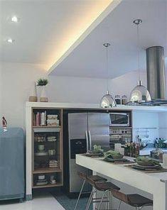 cozinha com rebaixo gesso - Pesquisa Google
