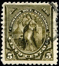 1896 El Salvador
