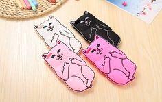 iPhone 6/6S Plus, 6/6S, SE, 5/5S - Fresh, Cute Cat Soft Case is Assorted Colors