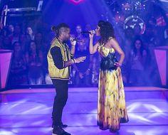 Amarildo Fire e Vanessa Borges  exibem 'química maravilhosa' no The Voice