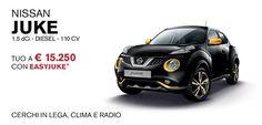 Scopri l'offerta speciale di Nissan JUKE! Per te condizioni d'acquisto vantaggiose.