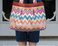 Alice Book Bag PDF Sewing Pattern by betzwhite on Etsy
