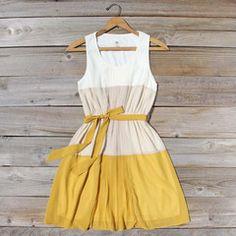 Peach Grove Dress in Honey