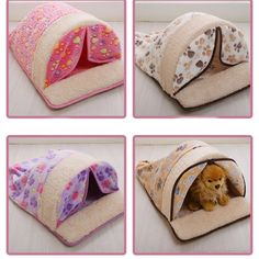 Best Quality Pet Supplies Dog Pads Removable and Washable Warm Winter Dog Sleeping Bag Small Dogs Doghouse Cat Nest - Tiere - Animals wild, Animals cutest, Animals funny, Animals drawings Puppy Beds, Pet Beds, Pet Puppy, Dog Pads, Dog Sofa Bed, Sleeping Dogs, Cat Supplies, Dog Houses, Your Dog