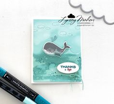 Totally Techniques - Stampin' Blends Kid N Teenagers, Chalk Markers, Alcohol Markers, Basic Grey, Cloud 9, Crafty Projects, Stampin Up, Card Stock, Thankful
