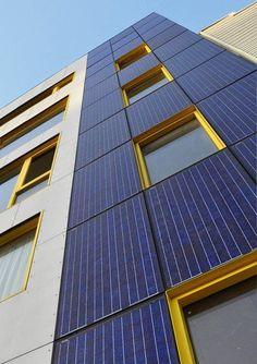 Pictures - Metropolitan Green - Solar PV Detail - Architizer.
