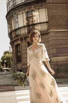 Bride cheap low cost dress intropia wedding dress bridal gown