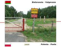 Confini amministrativi - Riigipiirid - Political borders - 国境 - 边界: 2009 BY-PL Valgevene-Poola Bielorussia-Polonia
