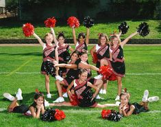 A brief description of Cheerleading to let you know the basic rules of Cheerleading, how to play Cheerleading, playing area, techniques involved in playing Cheerleading and and all significant facts related to Cheerleading Cheerleading Picture Poses, Youth Cheerleading, Cheerleading Workouts, Cheer Picture Poses, Cheer Poses, Gymnastics, Cheerleading Outfits, Football Cheer, Cheer Camp