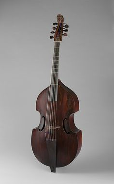 1720 French Seven-string bass viol (The Metropolitan Museum of Art, New York)