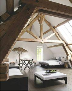 Beautiful Loft Design! #dopedecors @dopedecors
