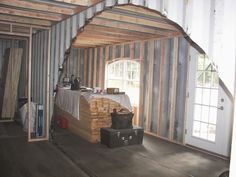 Shipping container cabin shipping containers and insulation on pinterest - Insulating shipping container homes ...