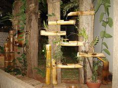 Artesanato com bambu 009