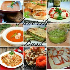 Fresh Basil Recipe Collection from willcookforsmiles.com