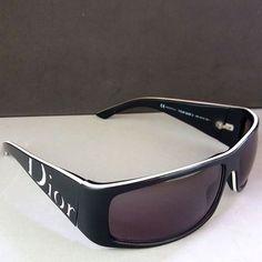 "ab02eaaa148 Theo s Vintage Finds on Instagram  ""Christian Dior YOUR DIOR2 Vintage  Black White Designer Sunglasses.  theosvintagefinds  preowned  vintage   original ..."