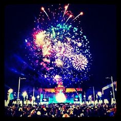 New Year's celebration in Barcelona 2013-2014