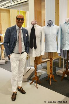 Francesco Avino from Avino Laboratorio Napoletano - tailored menswear shirts