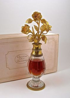 1956 Baccarat, Christian Dior Diorissimo perfume bottle : Lot 238