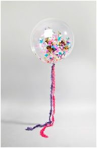 Carnright Design Inc. - Clear Party Balloons, $0.14 (http://www.sparklers-incyberspace.com/products/clear-party-balloons.html/)