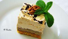 Romanian Food, Romanian Recipes, Something Sweet, Tiramisu, Caramel, Cheesecake, Ice Cream, Sweets, Cooking
