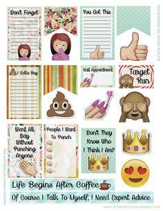 FREE Emoji Fun Planner by Victoria Thatcher