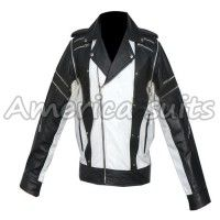 Michael Jackson Pepsi Ad commercial leather Jacket For Men