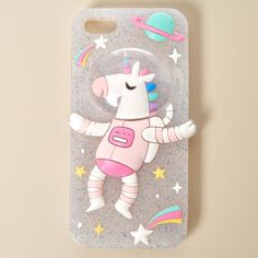 Space Unicorn Phone Case
