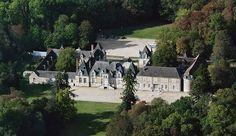 Château de Villesavin - vue aérienne